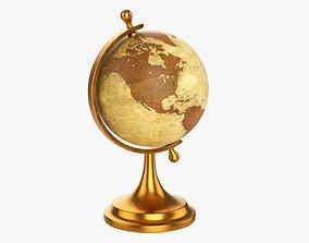 3D Decorative vintage table globe