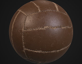 3D model Old volleyball ball