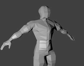 Human Base 3D asset