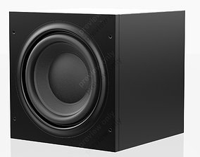 Bowers and Wilkins ASW 610 XP Black 3D