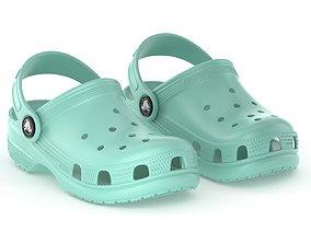 Crocs Classic Clog Pistachio 3D