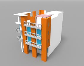 3D model Voxel Miami Hotel 14