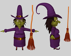 Witch fairytale 3D model