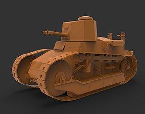 Renault FT 3D printable model