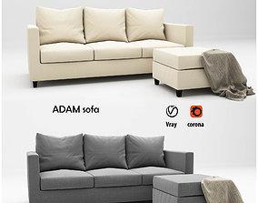 Adam sofa 3D furniture