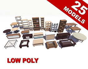 Furniture Pack 3D asset
