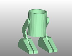 Mech Walker Pencil Holder 3D printable model