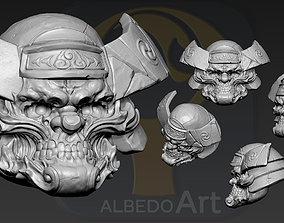 3D printable model Oni Yokai Head3