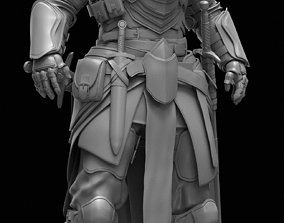 3D Knight character