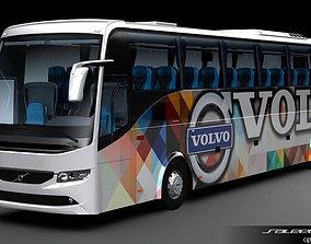 3D model Volvo B9R 6X2 Coach