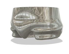 vase cup vessel underpants trh02 for 3d-print or