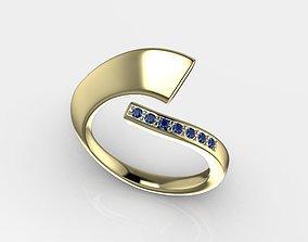 ring diamond brilliant printable stl