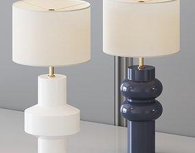 West Elm - Totem Table Lamp 3D