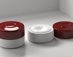 Cream Container 2 3D model