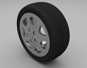 Porsche Wheel 3D model
