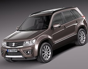 3D model Suzuki Grand Vitara 2013 5-door