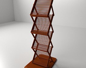 Literature Stand 3D model