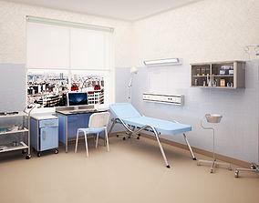 Treatment room 3D model