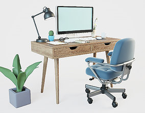 furniture table Home office 3D