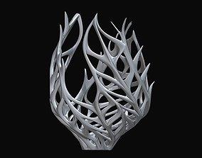 3D print model tabletop Decorative Coral Vase