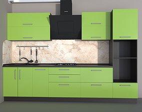 Modern kitchen hood furniture 3D