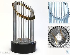 Baseball Throphy 3D model