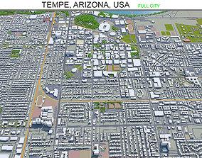 3D asset Tempe Arizona USA 20km