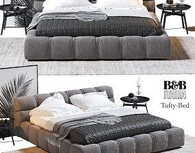 Tufty Bed BB Italia 3D