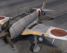 3D Nakajima Ki-44-2 Shoki or Demon - aka Tojo
