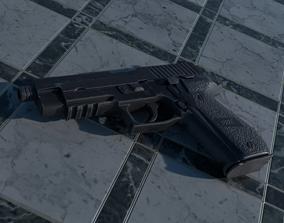3D asset Sig Sauer P226