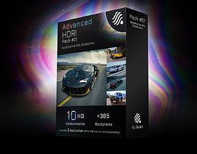 3D model 10 HDRIs - Automotive - Mix - Pack 01