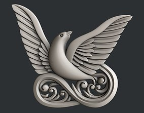 3d STL models for CNC or 3d printer Dove