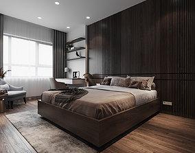 grandpa bedroom scene 3D model
