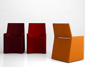 3D model Porro soft chair