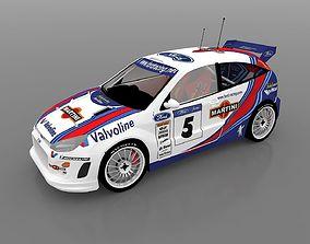 3D Rally Car