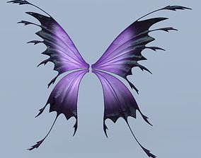 Fairy or Butterfly Wings Set C 3D model