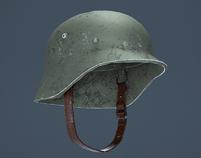 3D model German WW2 M35 Helmet