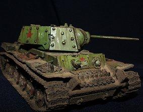 3D printable model thunder KV 1 Tanks