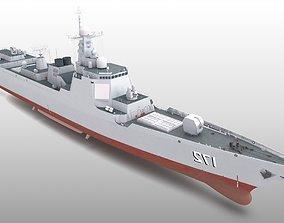 3D Type052D 052D Type 052 Destroyer PLAN