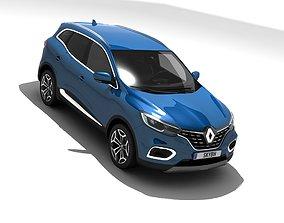 3D asset Renault Kadjar