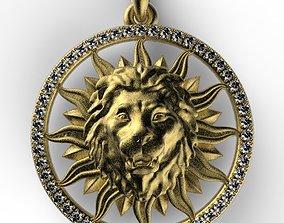 lion sun 3D print model
