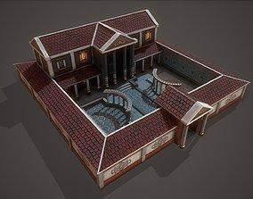 Parricians Villa 3D asset low-poly