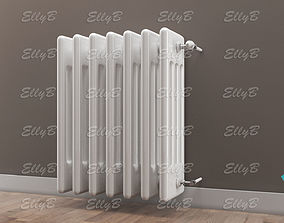Radiator with Thermostatic Valve 3D model