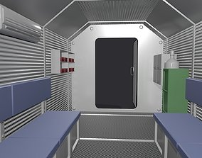 3D model Refuge Chamber Container PBR