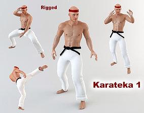 3D model Karateka 1