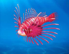 3D Cartoon Fish01 Rigged Animated