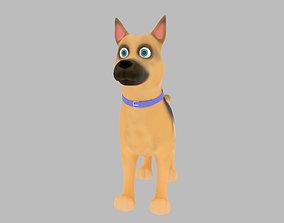 3D small Cartoon Dog