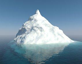 Iceberg ice 3D