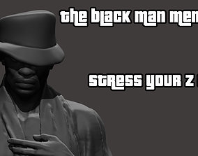 nude Whatsapp Black Man Meme 3D print model
