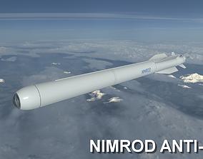 3D asset Nimrod Anti Tank Missile